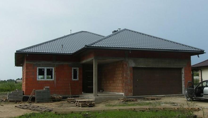 Одноэтажный дом из керамического блока 171м