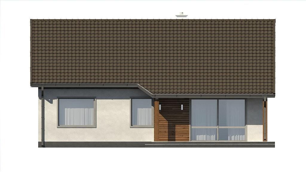 Одноэтажный дом из керамического блока 82м