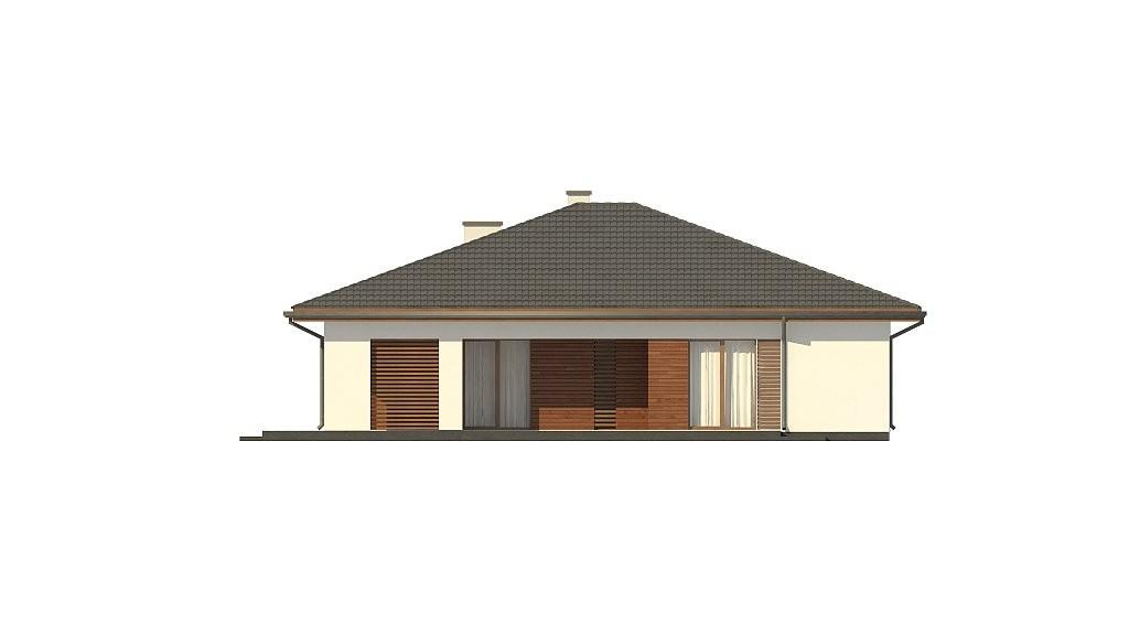 Одноэтажный дом из керамического блока 134м