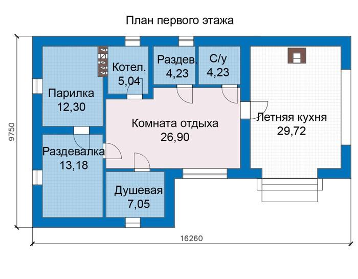Баня 53м