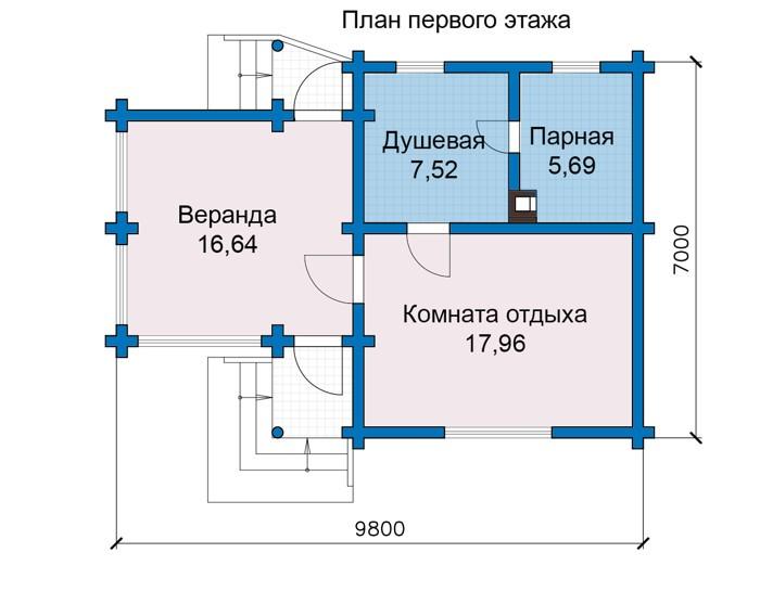 Баня 47м