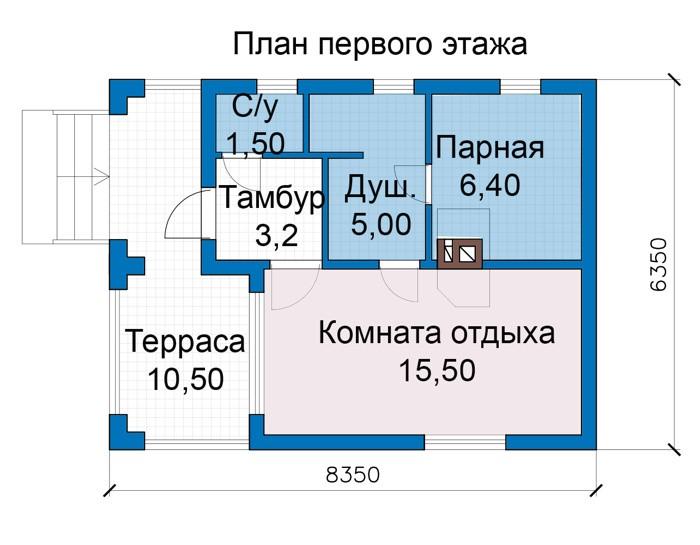 Баня 32м