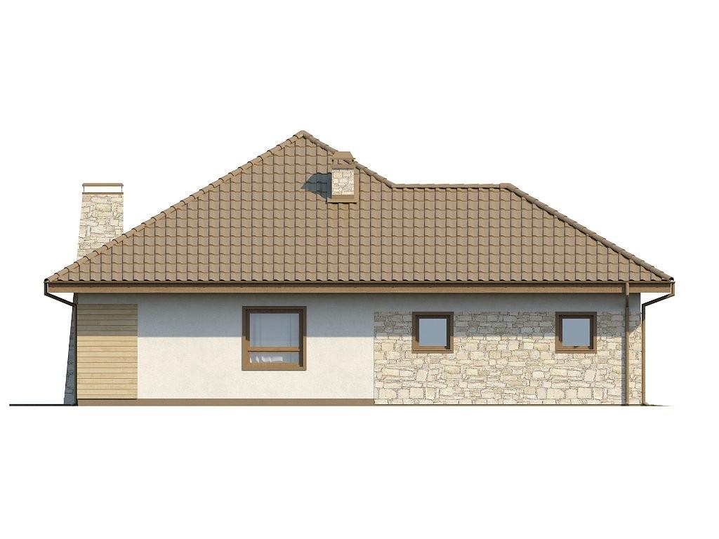 Одноэтажный коттедж из керамического блока 156м