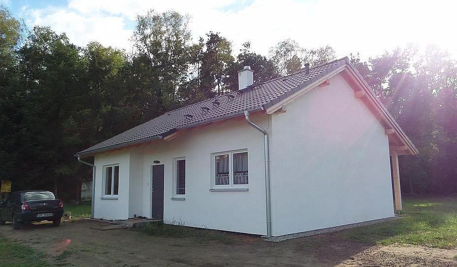 Одноэтажный дом из керамического блока 72м
