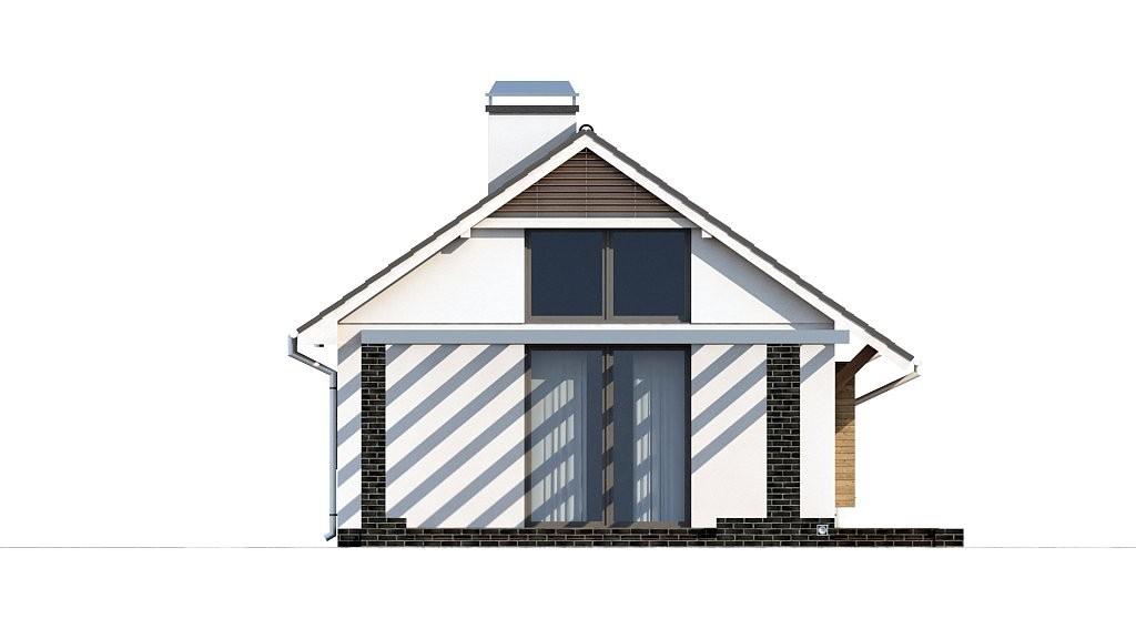 Одноэтажный дом из керамического блока 67м