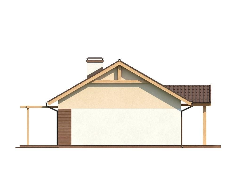 Одноэтажный дом из керамического блока 92м