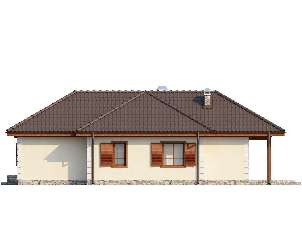Одноэтажный дом из газобетона 125м