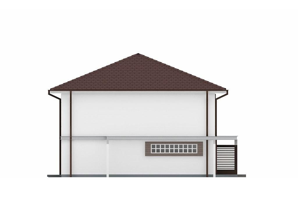 Двухэтажный дом из керамического блока 206м