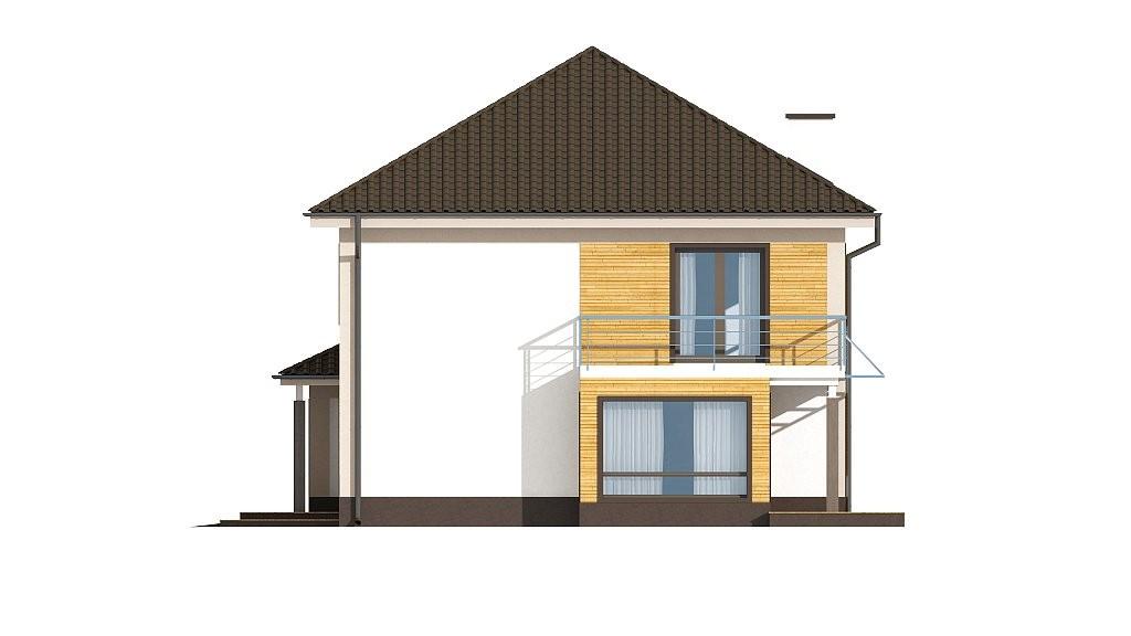 Двухэтажный коттедж из газобетона 226м