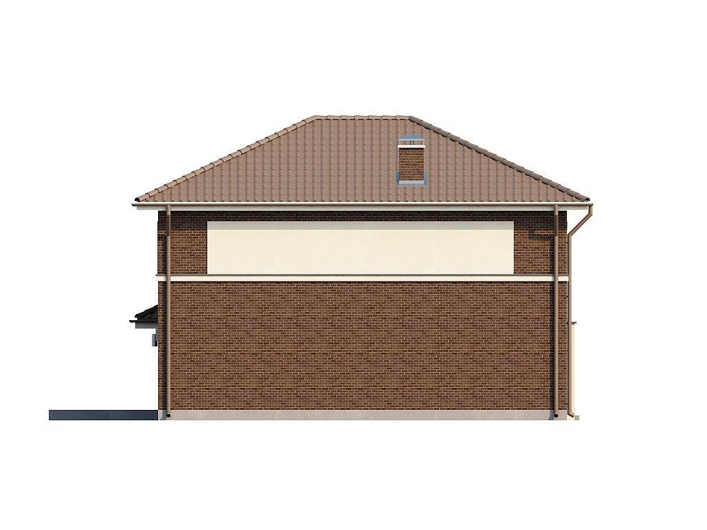 Двухэтажный дом из керамического блока 164м
