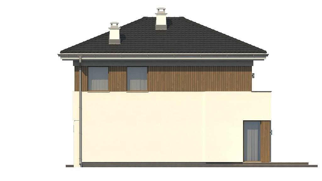Двухэтажный дом из газобетона 122м
