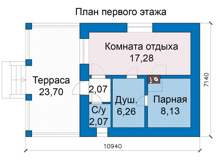 Баня 35м